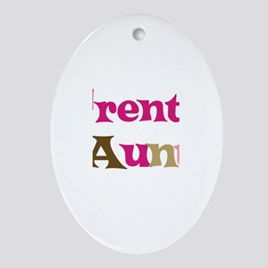 Trent's Aunt Oval Ornament