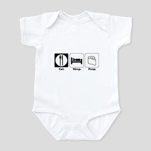 Eat. Sleep. Poop. Infant Bodysuit
