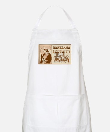 Mexican Homeland Security BBQ Apron