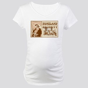 Mexican Homeland Security Maternity T-Shirt