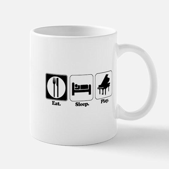 Eat. Sleep. Play. (Piano) Mug