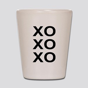 xoxo Shot Glass