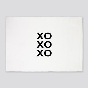 xoxo 5'x7'Area Rug