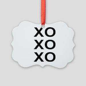 xoxo Picture Ornament
