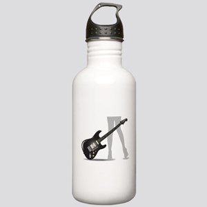 Rock Guitar Legs Stainless Water Bottle 1.0L