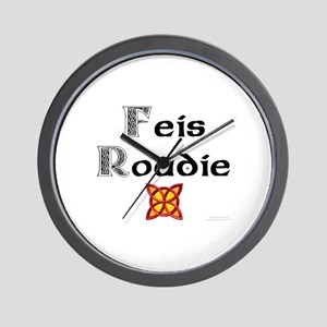 Feis Roadie - Wall Clock