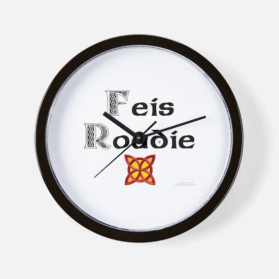 Feis Roadie - Wall Clock