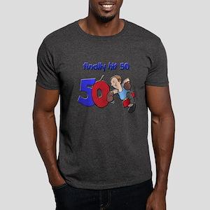 finally hit 50 Dark T-Shirt