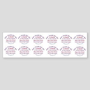 Fair Trade for All Bumper Sticker