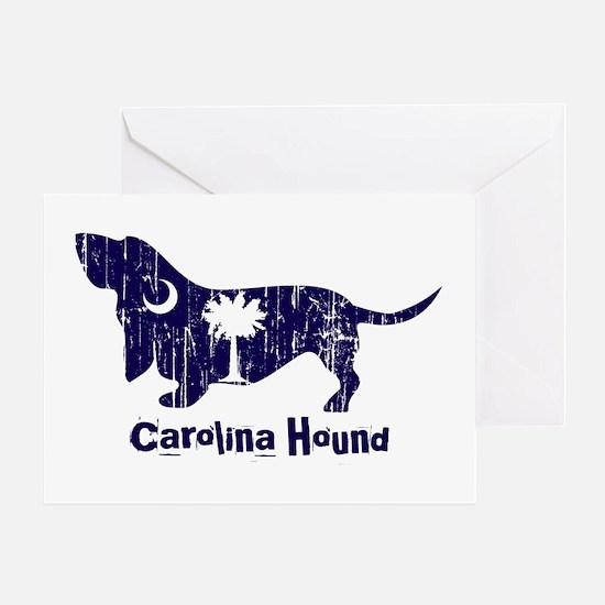 SC Dog copy Greeting Cards