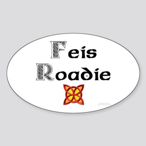 Feis Roadie - Oval Sticker