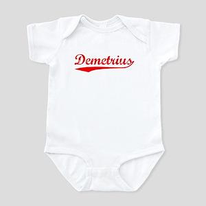 Vintage Demetrius (Red) Infant Bodysuit