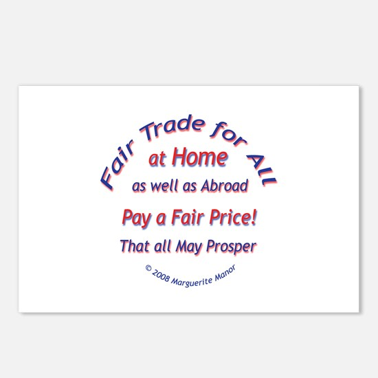Fair Trade for All Postcards (Package of 8)
