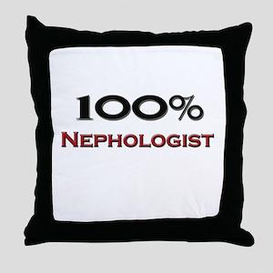 100 Percent Nephologist Throw Pillow