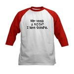 Who needs a 401K Kids Baseball Jersey