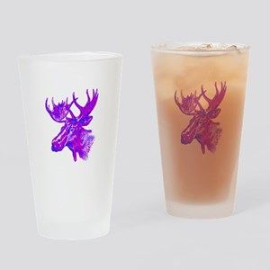 PINK TONES Drinking Glass