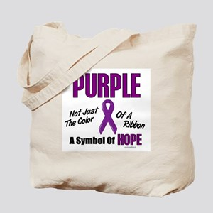 PURPLE Not Just A Color 3 Tote Bag