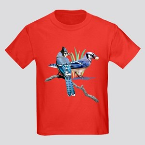 Blue Jay Kids Dark T-Shirt