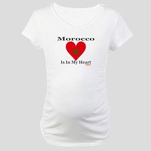 Morocco - Heart Maternity T-Shirt