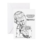 Aristotle Greeting Cards (Pk of 10)