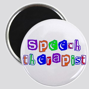 Speech Therapist Colors Magnet