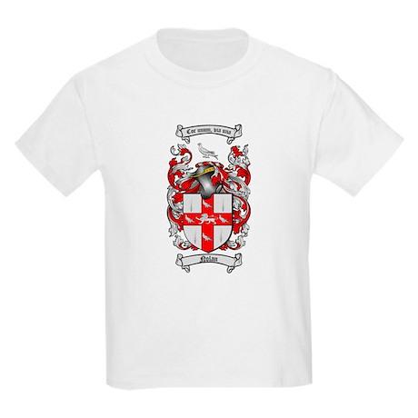 Nolan Family Crest Kids Light T-Shirt