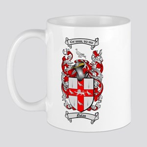 Nolan Family Crest Mug