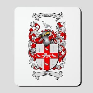 Nolan Family Crest Mousepad