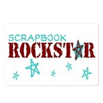 Scrapbook Rockstar Postcards (Package of 8)