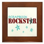 Scrapbook Rockstar Framed Tile
