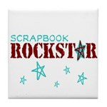 Scrapbook Rockstar Tile Coaster