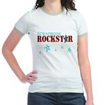 Scrapbook Rockstar Jr. Ringer T-Shirt