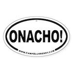 Onacho! Oval Sticker