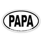 PaPa Oval Sticker