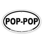 Pop-Pop Oval Sticker