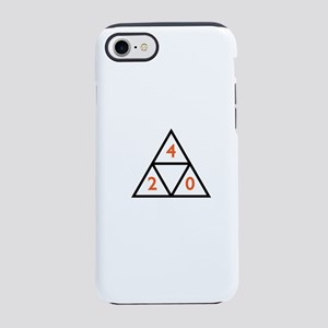 420 x Huf Triangle iPhone 8/7 Tough Case