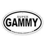 Super Gammy Oval Sticker