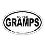 Super Gramps Oval Sticker