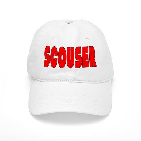 Scouser Red w/Black Cap
