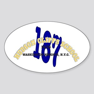 PS/IS 187 Oval Sticker