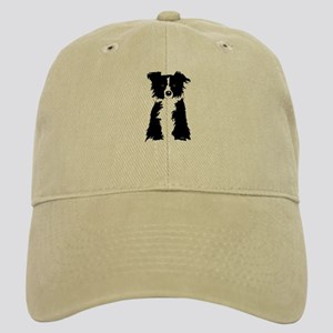 Brown Border Collie Cap