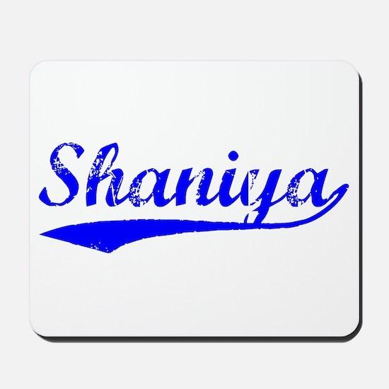 Vintage Shaniya (Blue) Mousepad