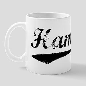 Vintage Hamza (Black) Mug
