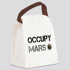 Occupy Mars Shirt Canvas Lunch Bag