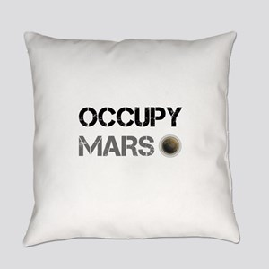 Occupy Mars Shirt Everyday Pillow