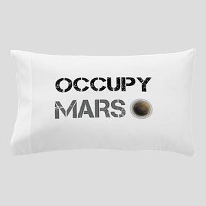 Occupy Mars Shirt Pillow Case
