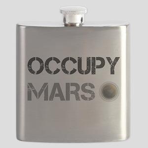 Occupy Mars Shirt Flask