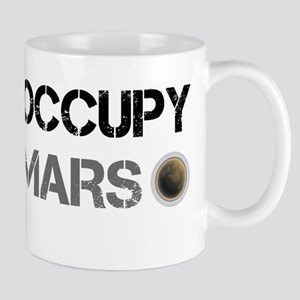 Occupy Mars Shirt Mugs