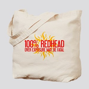 100% Redhead - Over Exposure Tote Bag