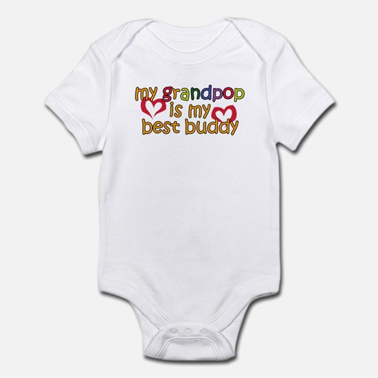 Grandpop is My Best Buddy Infant Bodysuit